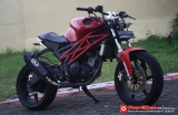 Kuda Besi Street Fighter Yamaha V-Ixion